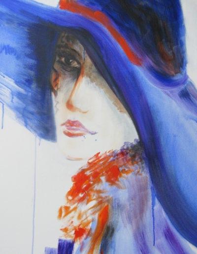Regina Merta - Dame mit Hut II