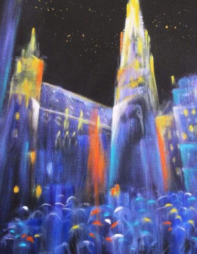 Merta Regina - Wien bei Nacht - Stephansdom