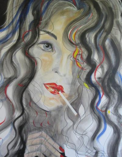 Regina Merta - die letzte Zigarette