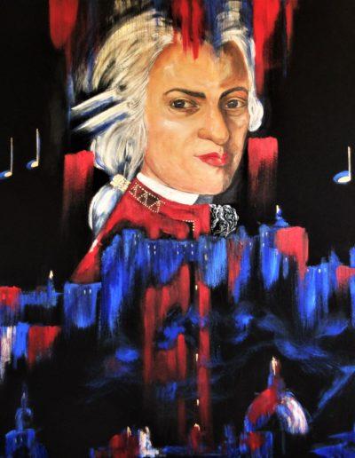Merta Regina music for ever 2018 - Malerei Acryl auf Leinen - 80x100 IMG_1937